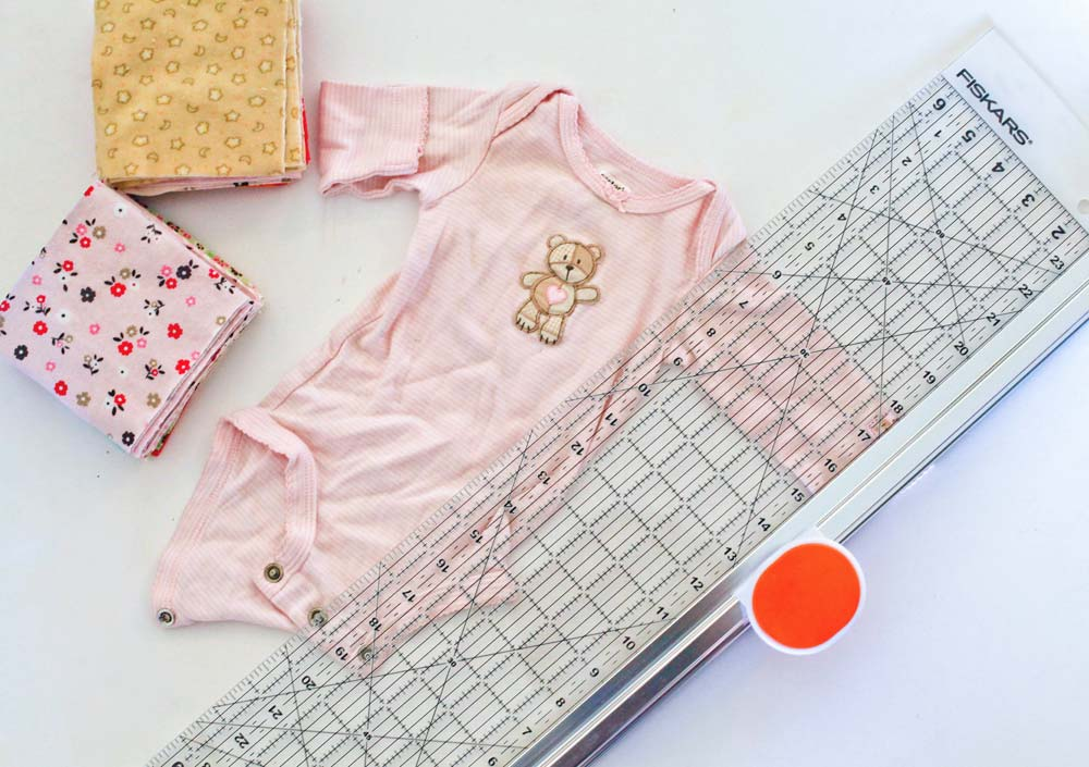 How To Make A Quilt With Old Baby Clothes Smiling Colors