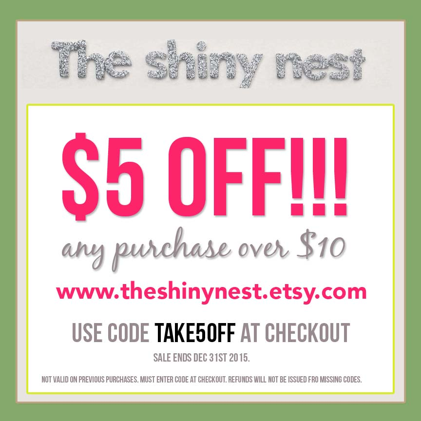 Coupon codes for etsy