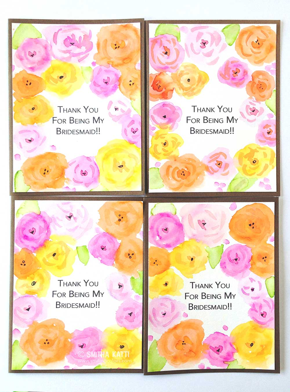 How To Print Your Own Card Sentiments Smiling Colors