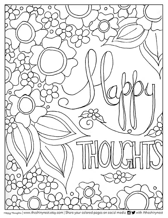 Adult Coloring Video + Free Printable + Giveaway - Smiling ...