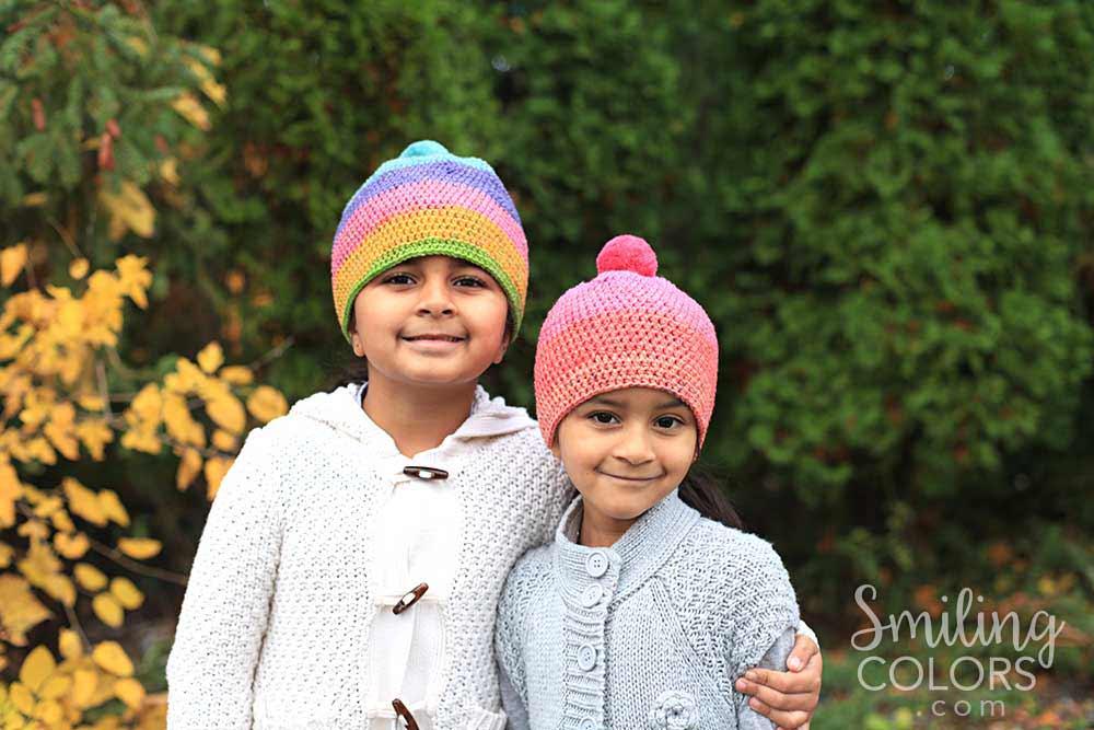 1e636818e4d Caron cupcakes crochet hat - Smitha Katti